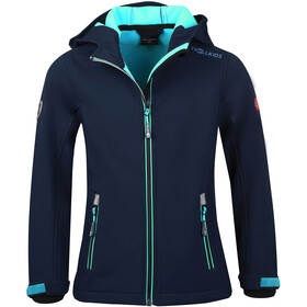 TROLLKIDS Trollfjord Jacket Girls navy/mint